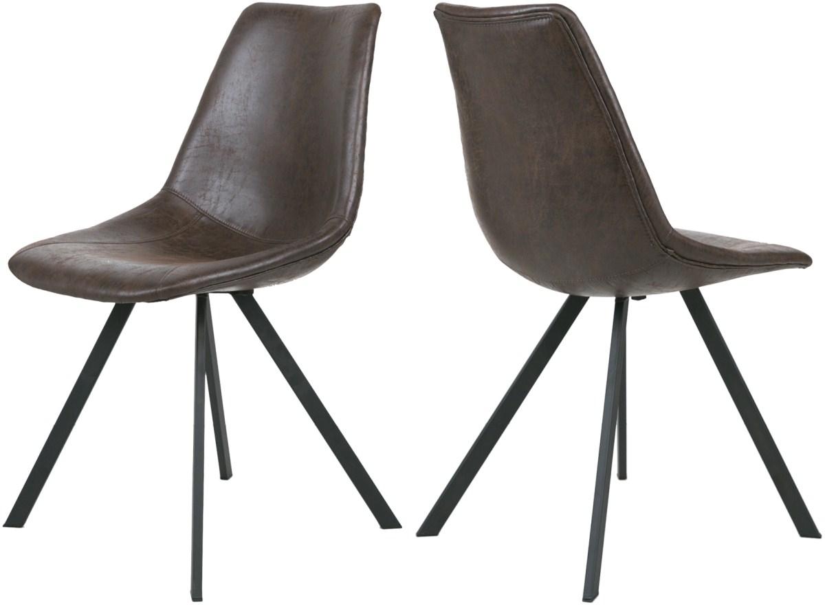 canett – Canett zobel spisebordsstol - mørkebrun fra boboonline.dk
