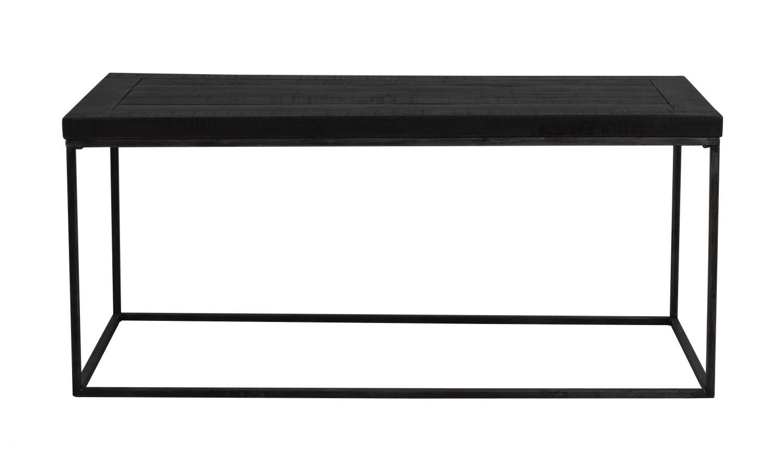 Dalton sofabord - sort træ og metal