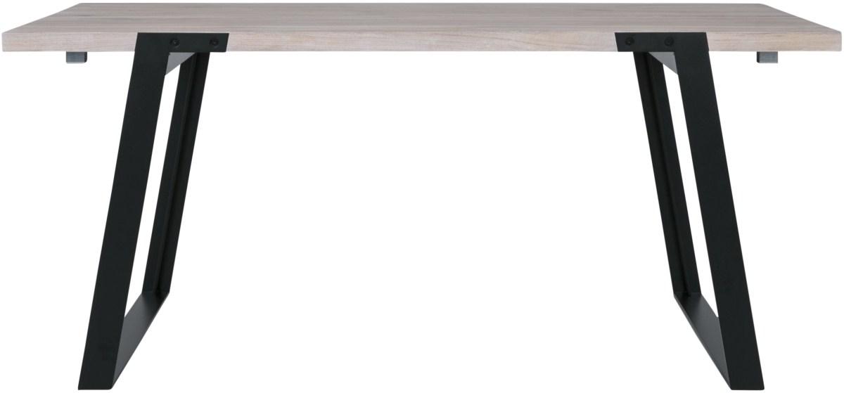 CANETT Zilas plankebord - hvidolieret m. udtræk (170x80)