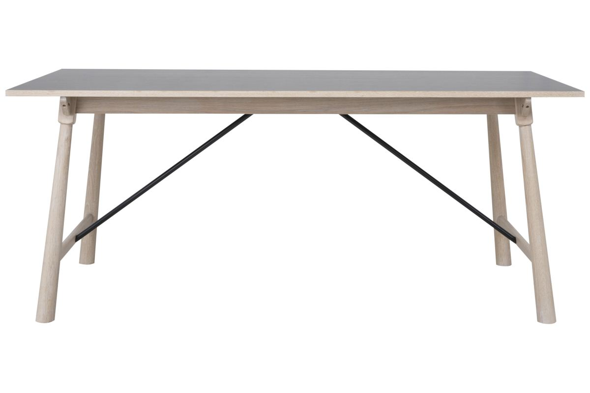 Image of   CANETT Stanton spisebord - Mørkegrå