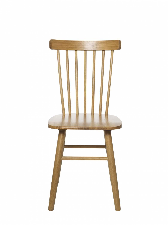 Billede af Disco spisebordsstol - Lakeret egetræ