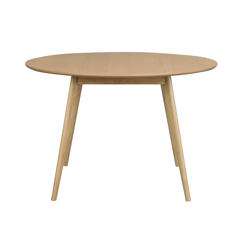 ROWICO rund Yumi spisebord - natur egetræsfiner og eg (Ø115)
