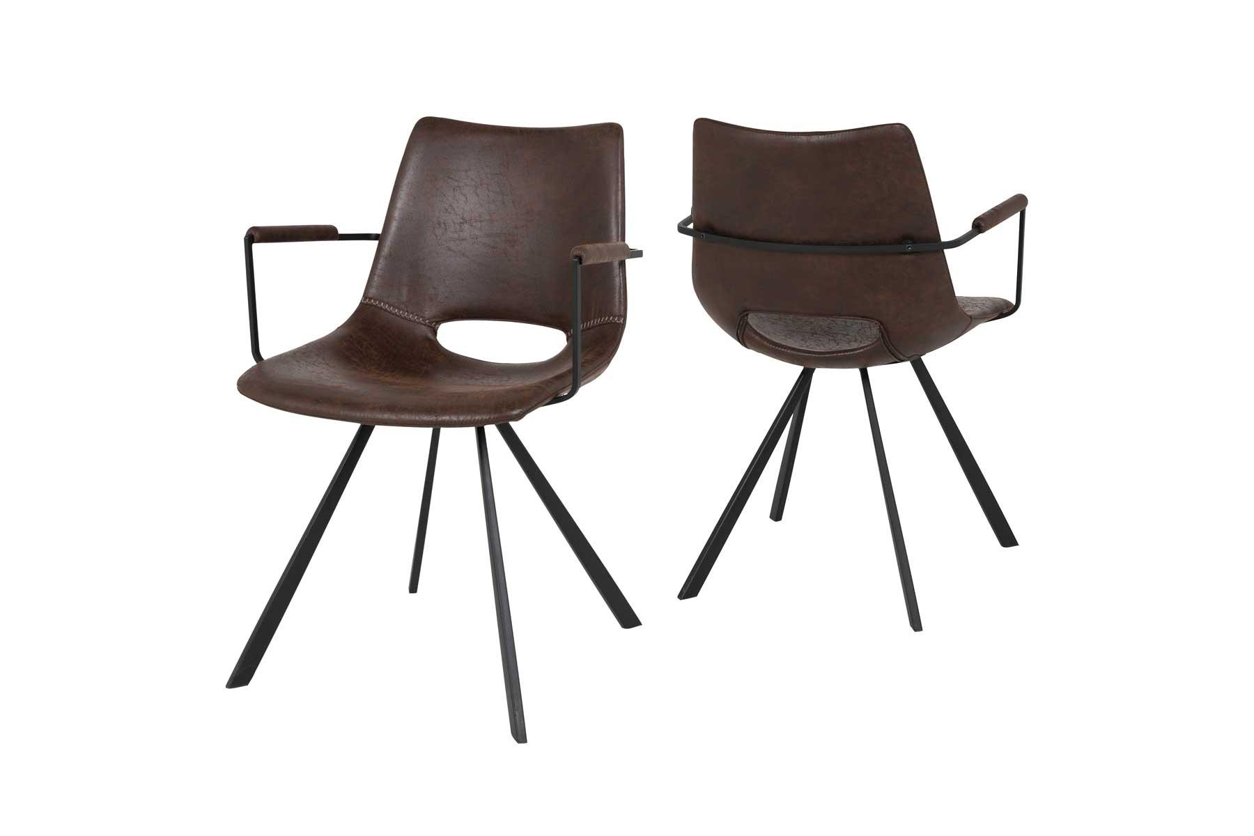 Billede af Coronas stol med armlæn