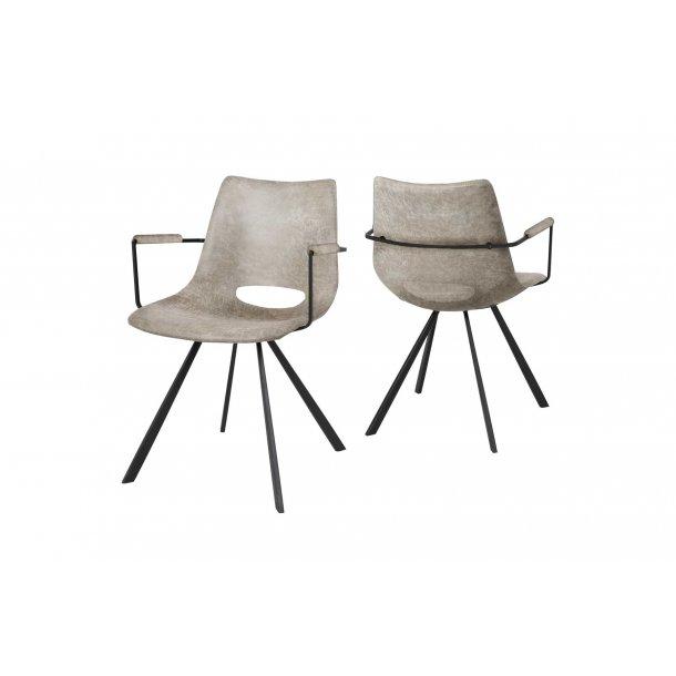 Coronas stol, armlæn
