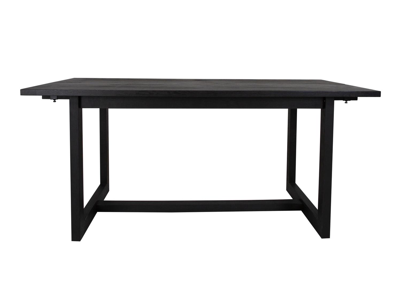 canett Canett binley spisebord - sortbejdset vildeg fin?r og sort eg (170x90) på boboonline.dk