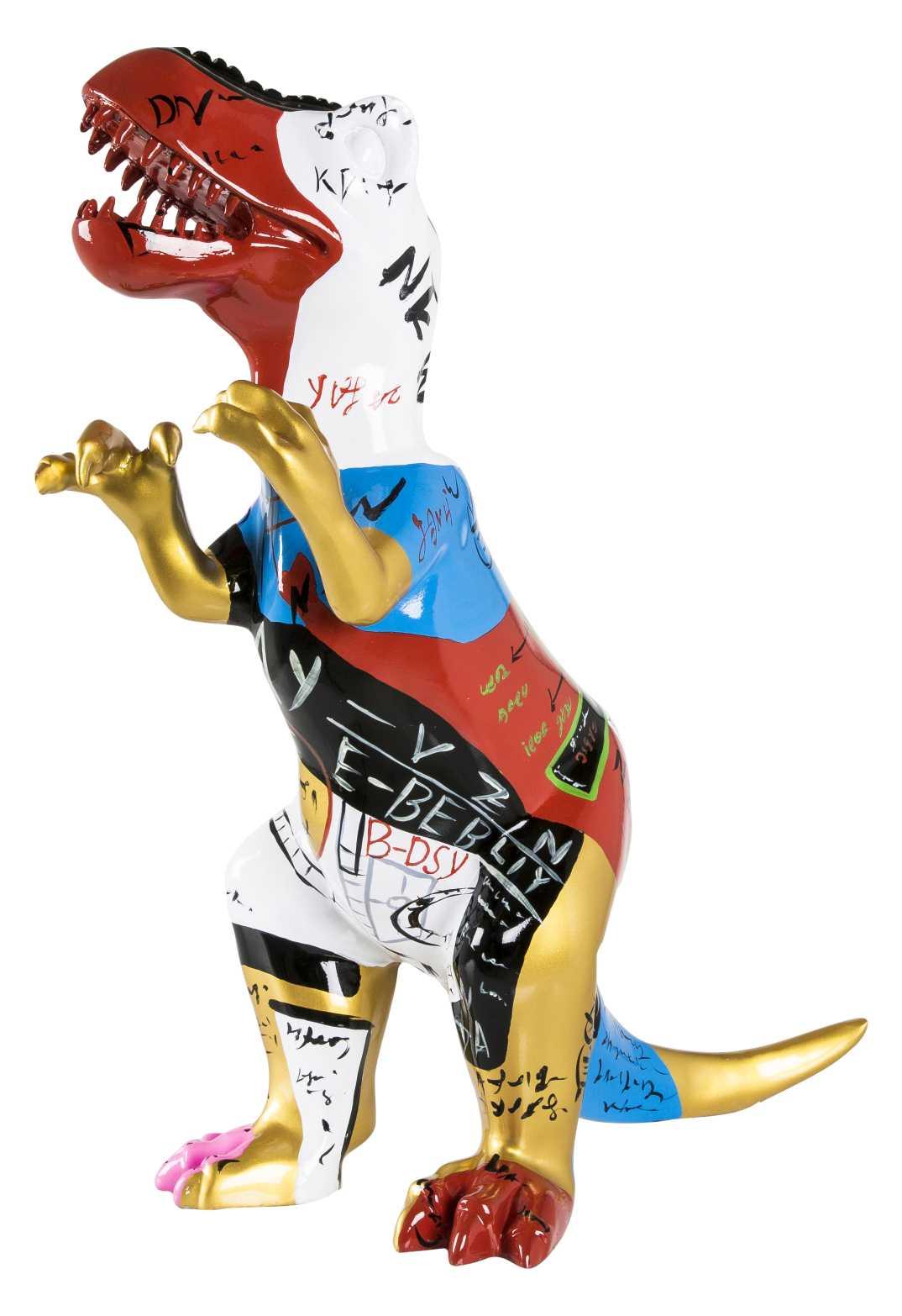 Billede af Crazy Zoo skulptur - multifarvet dinosaur