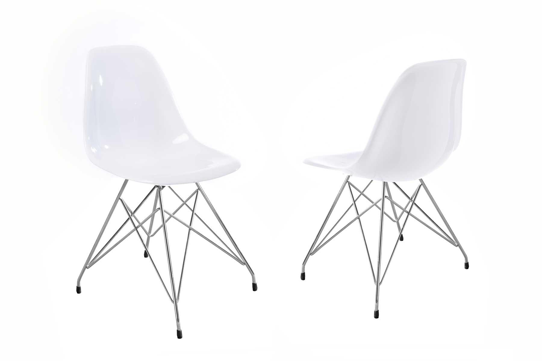 Billede af Crystal stol i hvid
