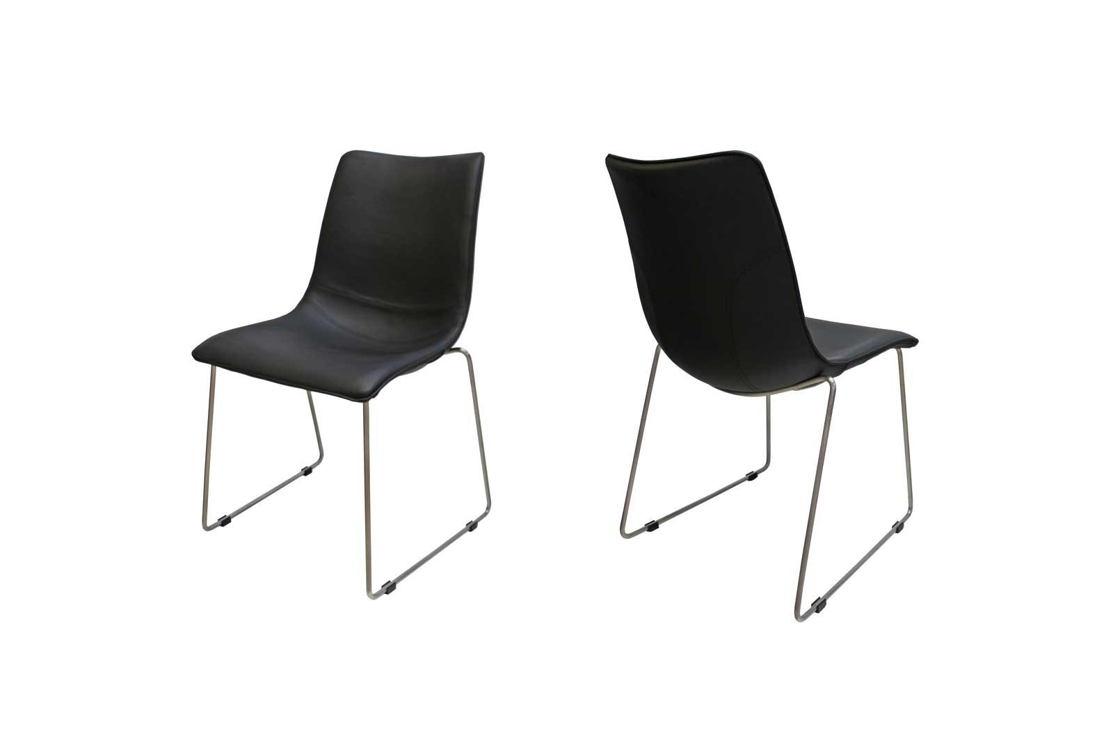 Billede af Delta stol i sort