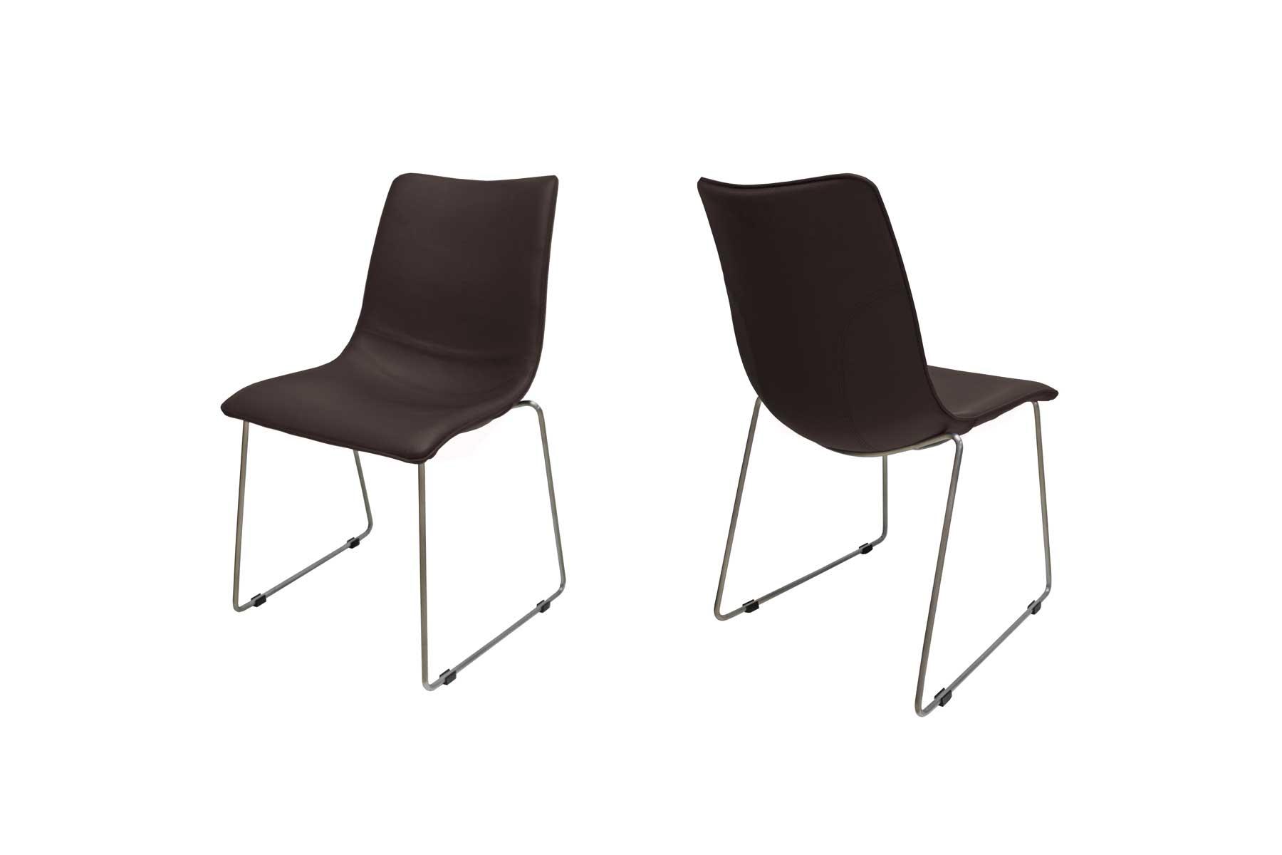 Billede af Delta stol i mørkebrun