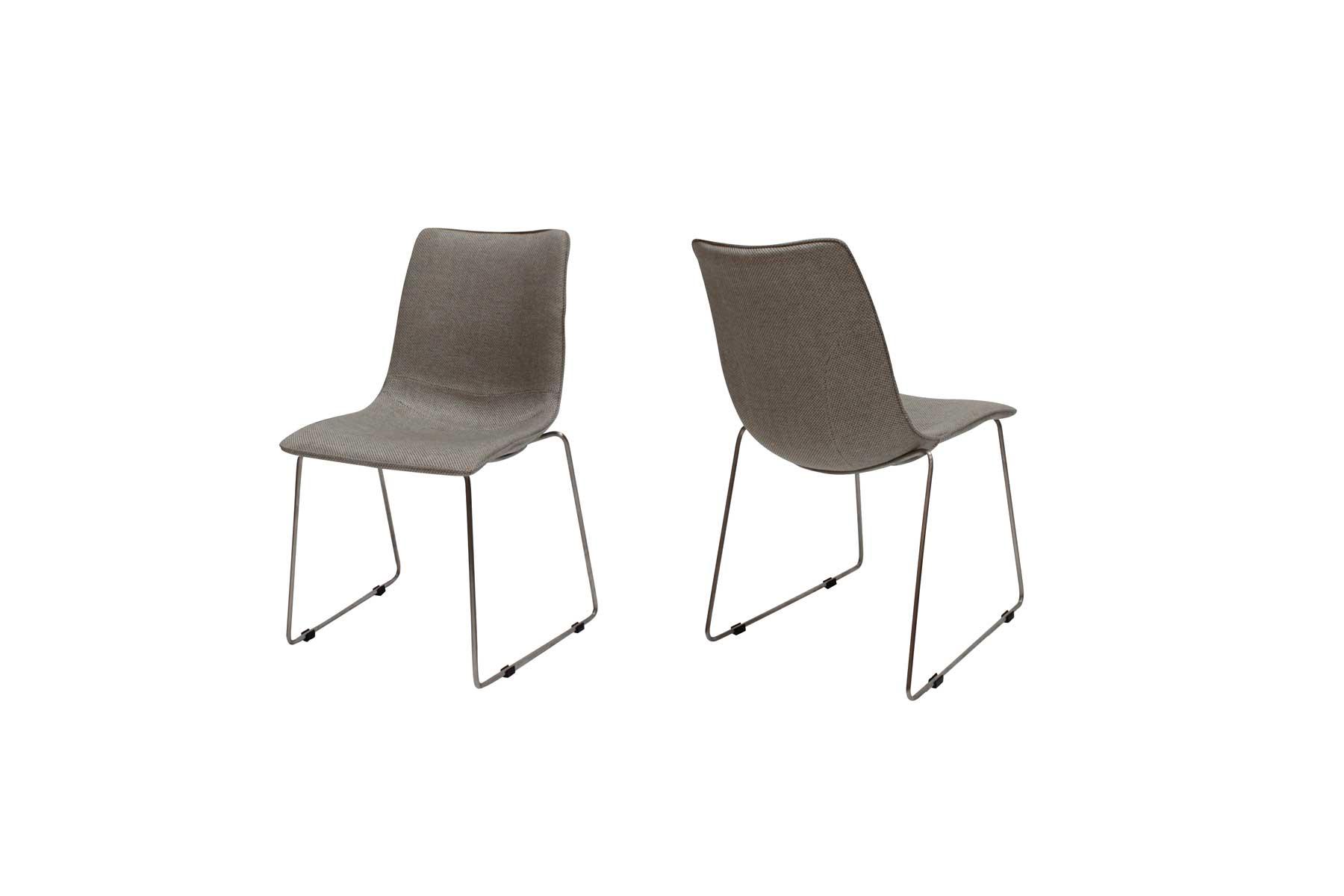 Delta stol i lysegrå fra canett på boboonline.dk