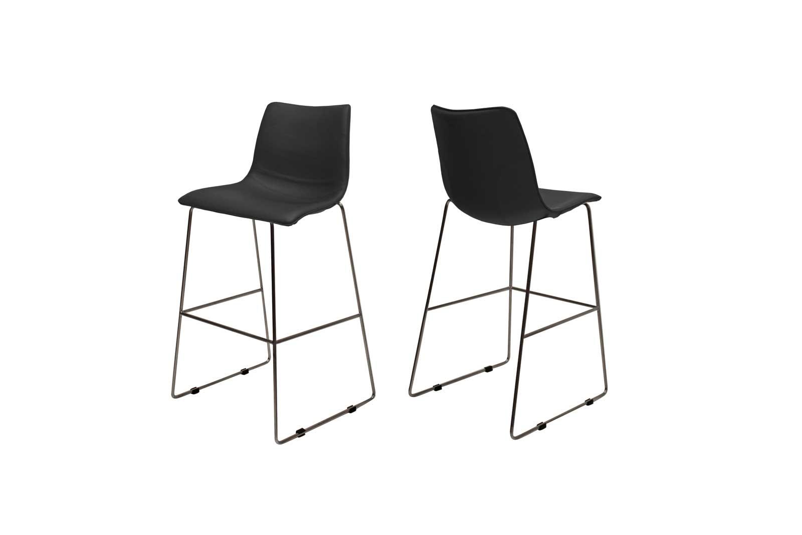 Billede af Delta barstol i sort