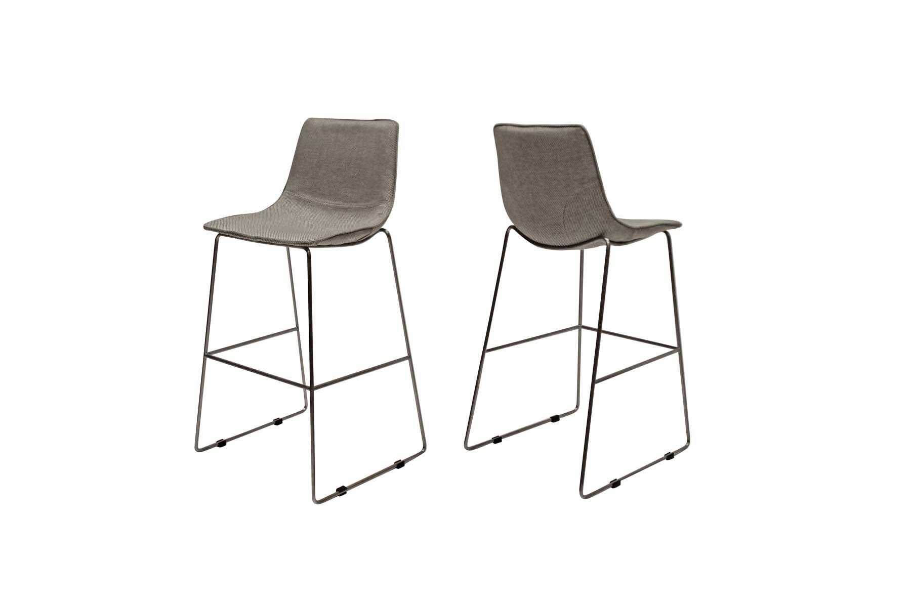 canett Delta barstol i lysegrå på boboonline.dk