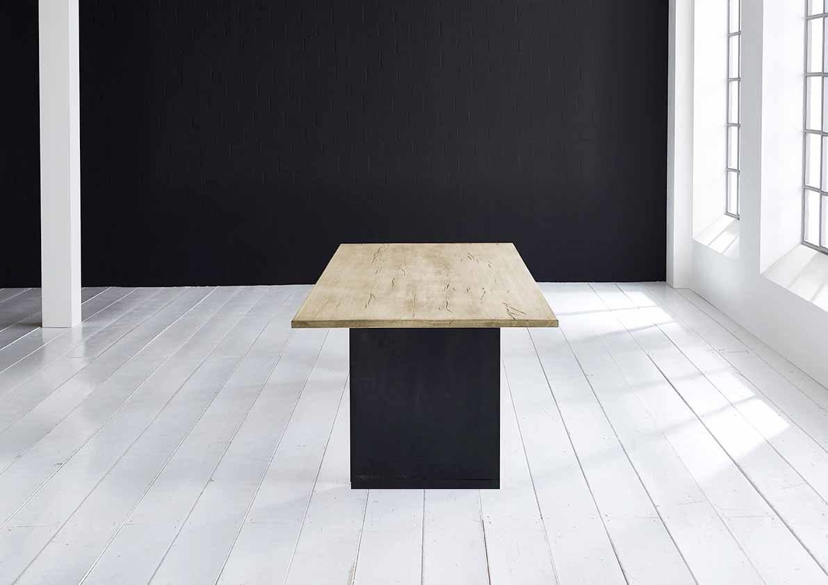 bodahl Concept 4 you plankebord - eg m. lige kant og t-ben, m. udtræk (180-260x100-110) 3 cm 180 x 100 cm 05 = sand fra boboonline.dk