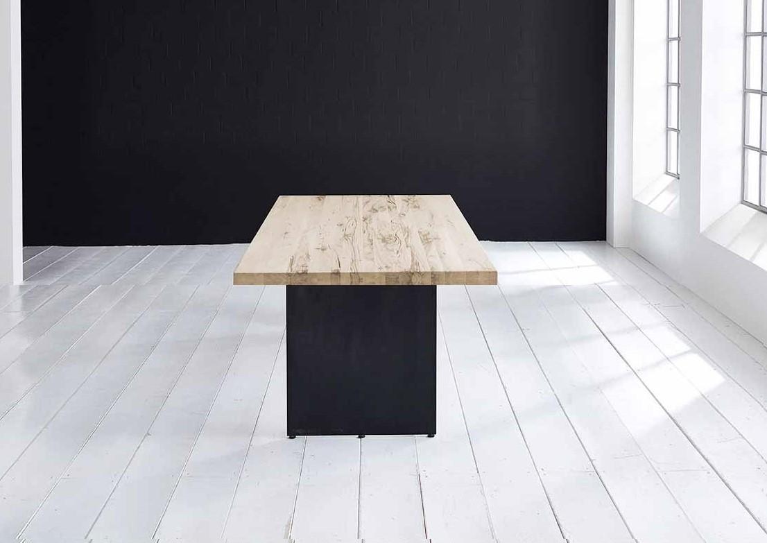 Concept 4 You plankebord - Lige kant med Line ben, m. udtræk 6 cm 240 x 100 cm 04 = desert