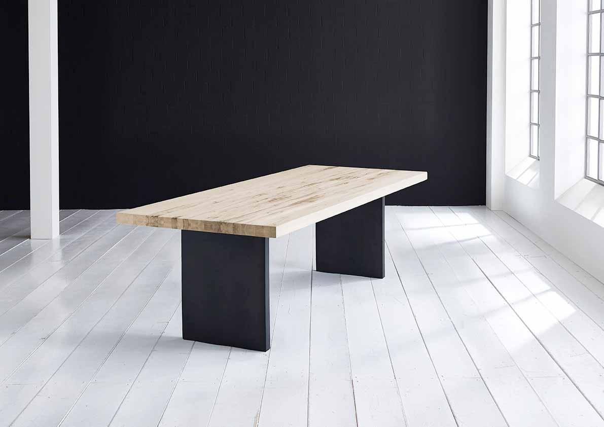 Concept 4 You Plankebord - Lige kant med T-ben, m. udtræk 6 cm 260 x 110 cm 04 = desert