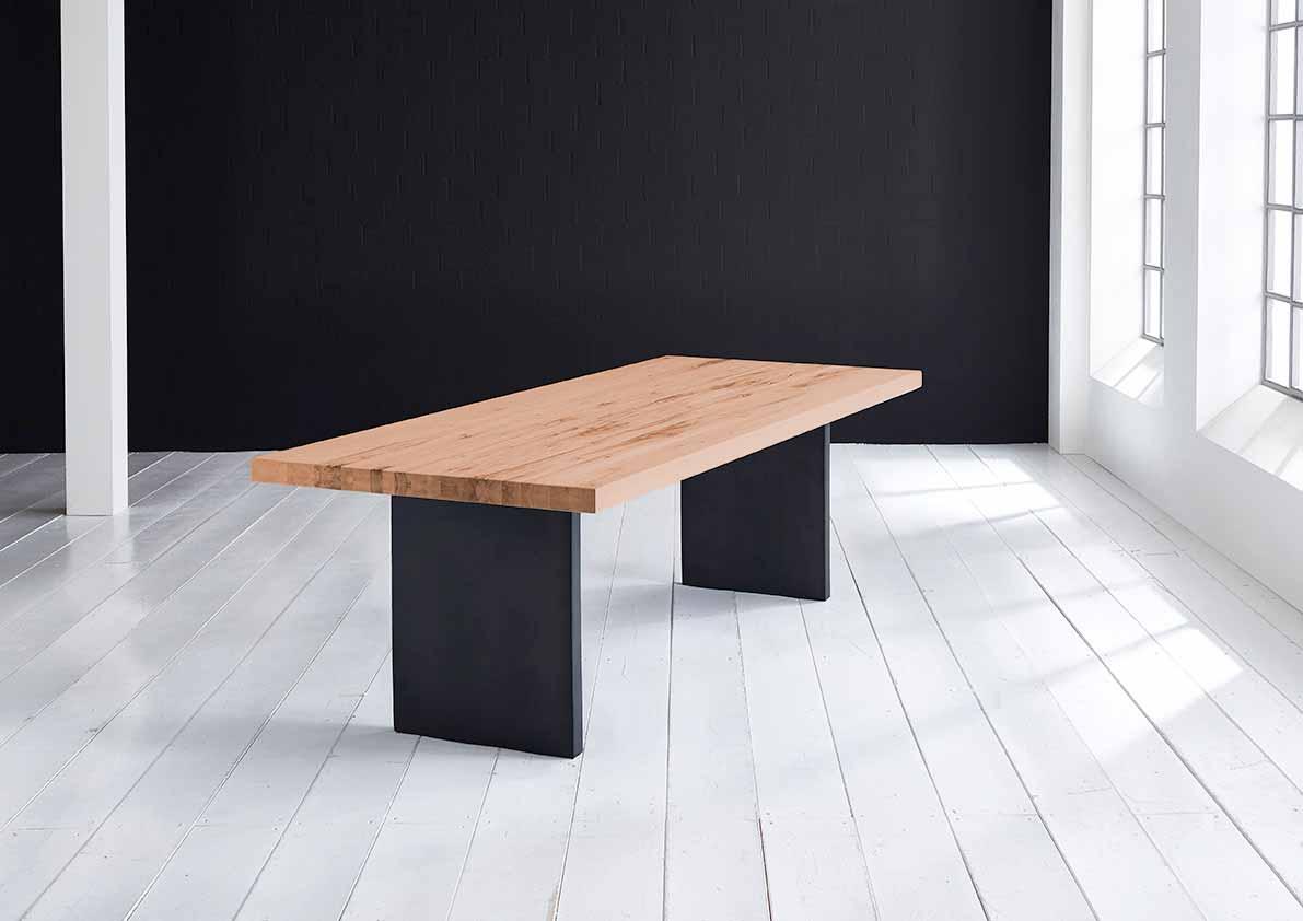 Concept 4 You Plankebord - Lige kant med T-ben, m. udtræk 6 cm 300 x 110 cm. 06 = old bassano