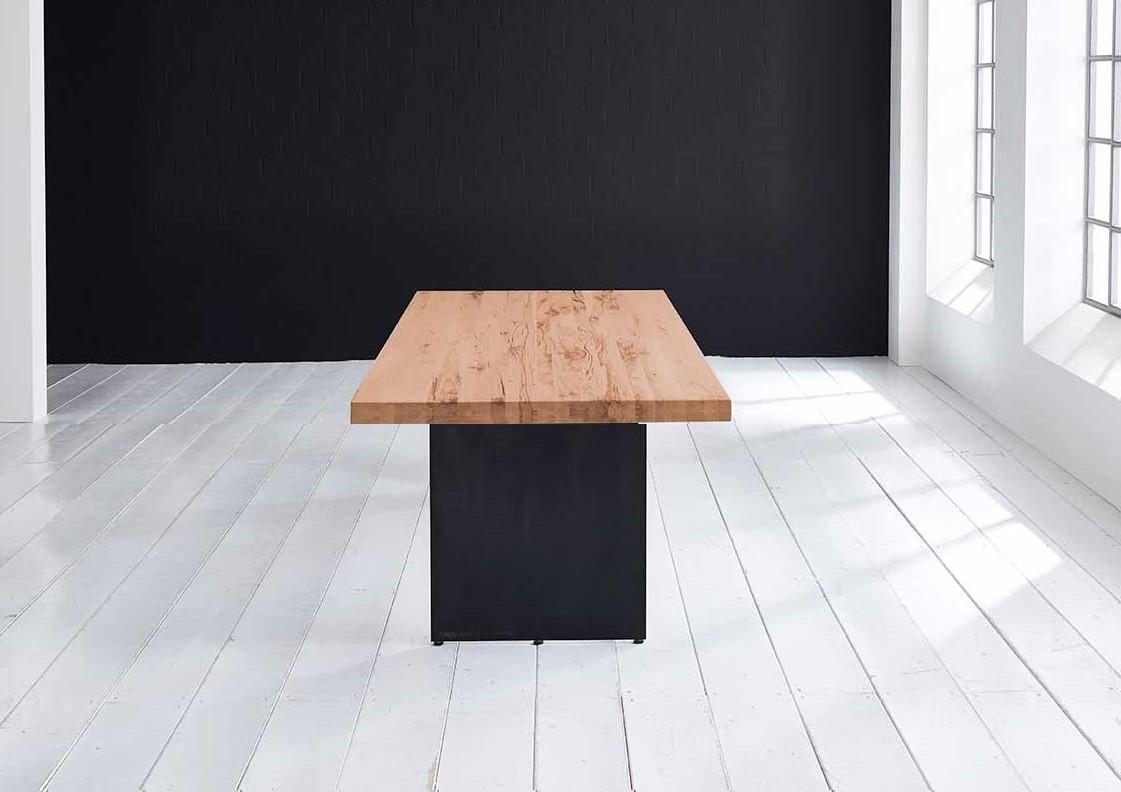 Concept 4 You plankebord - Lige kant med Line ben, m. udtræk 6 cm 200 x 110 cm 06 = old bassano