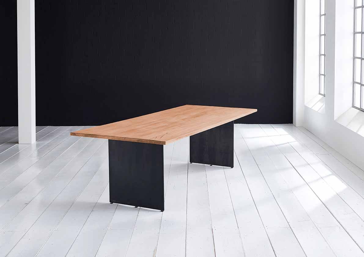 bodahl – Concept 4 you plankebord - lige kant med line ben, m. udtræk 3 cm 240 x 100 cm 06 = old bassano fra boboonline.dk