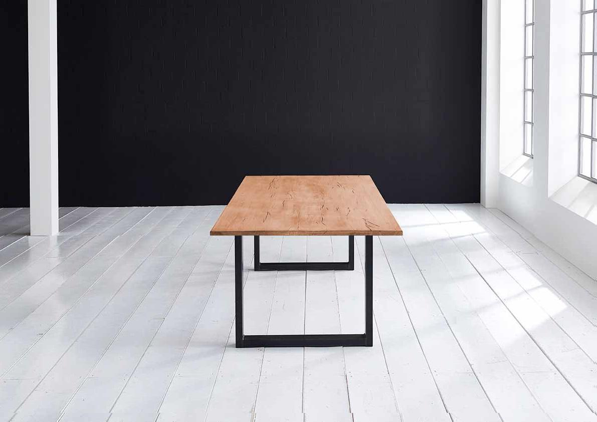 Concept 4 You plankebord - Lige kant Eg med U-ben 3 cm 180 x 100 cm 06 = old bassano