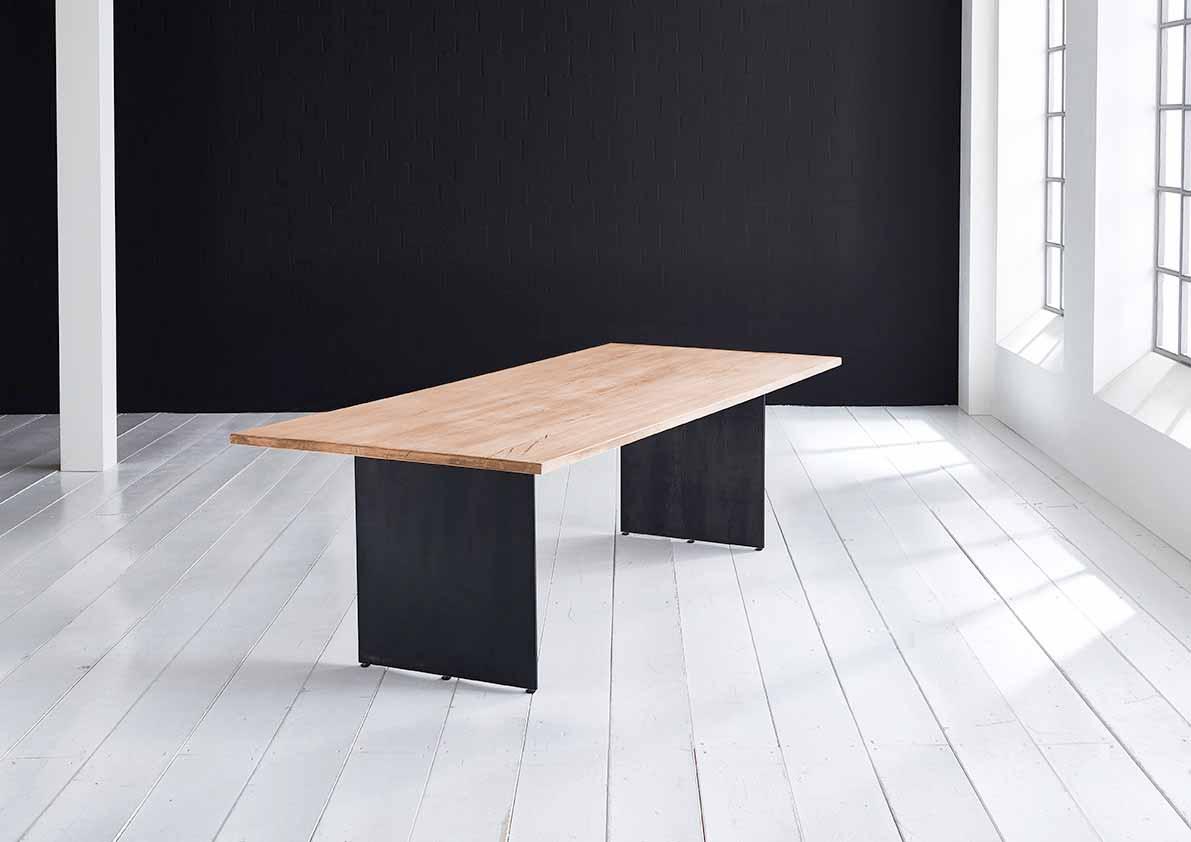 Concept 4 You plankebord - Lige kant med Line ben, m. udtræk 3 cm 180 x 100 cm 01 = olie