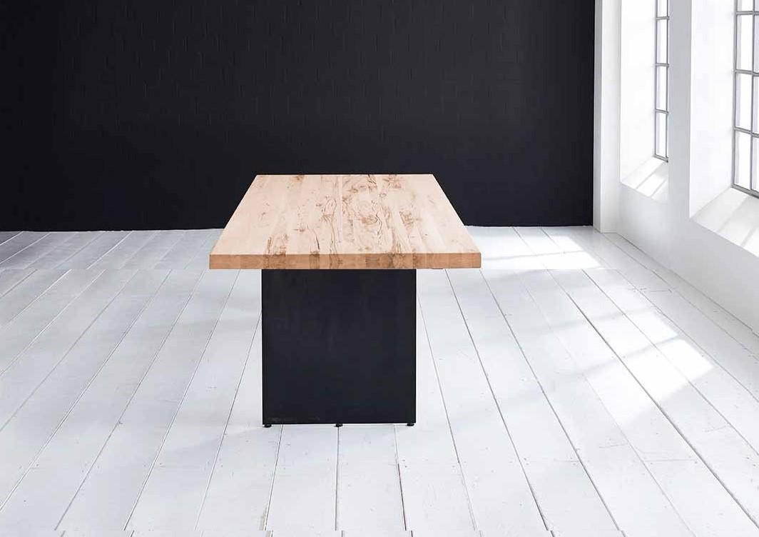 Concept 4 You plankebord - Lige kant med Line ben, m. udtræk 6 cm 240 x 100 cm 01 = olie