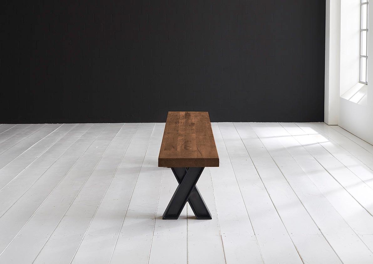 Concept 4 you spisebordsbænk - x-ben 280 x 40 cm 6 cm 06 = old bassano fra bodahl fra boboonline.dk