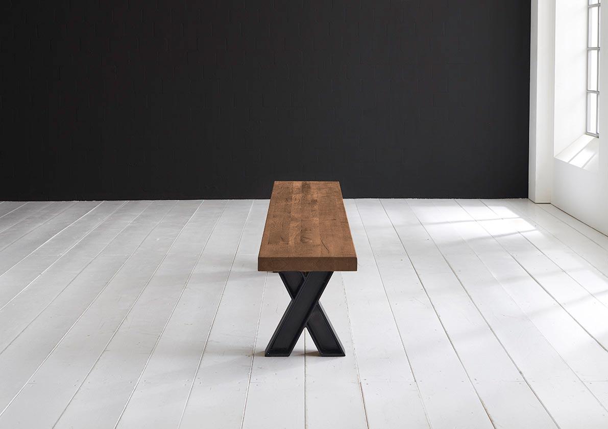 Concept 4 You Spisebordsbænk - X-ben 300 x 40 cm 6 cm 01 = olie