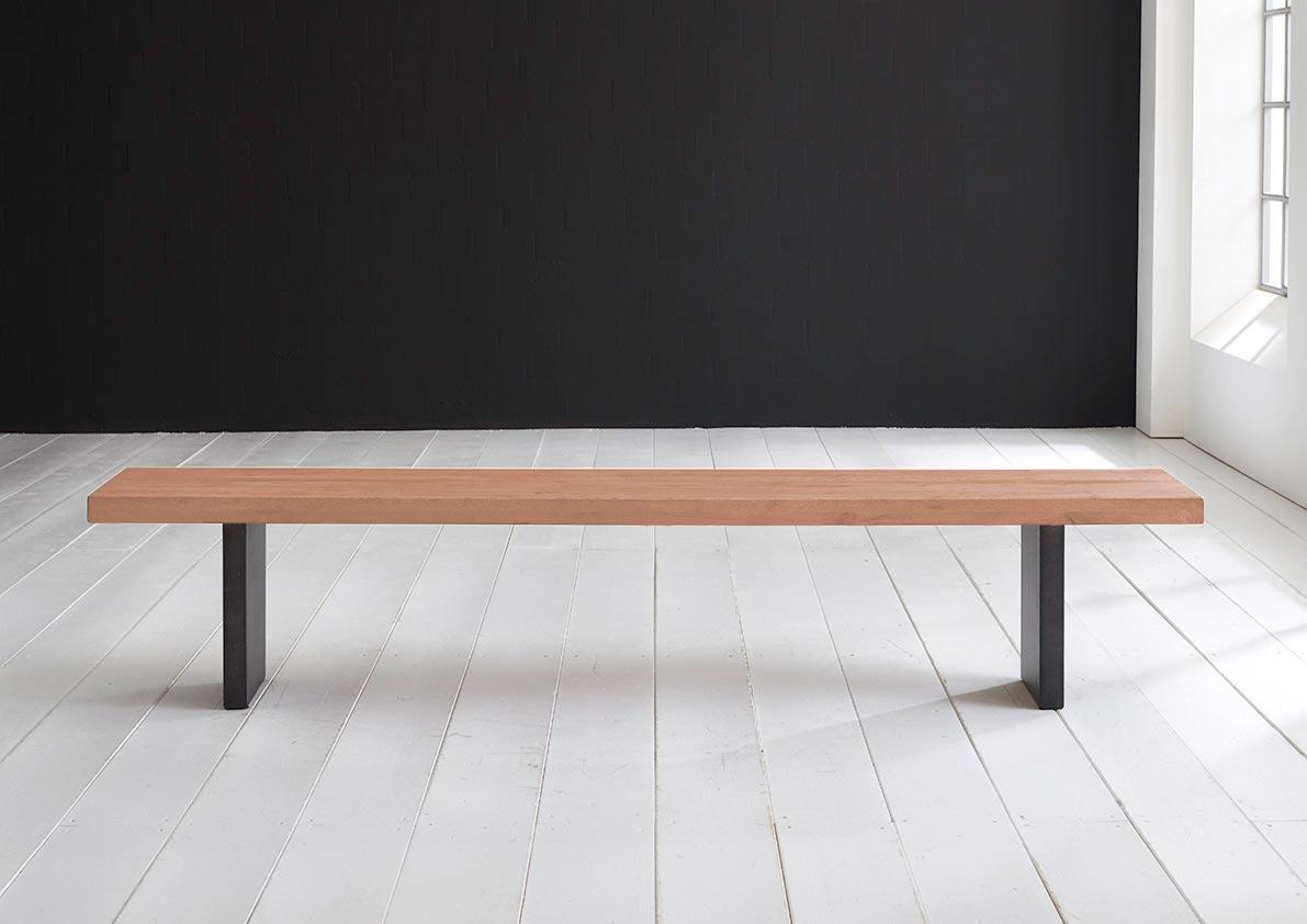 Concept 4 You Spisebordsbænk - T-Ben 180 x 40 cm 6 cm 03 = white wash