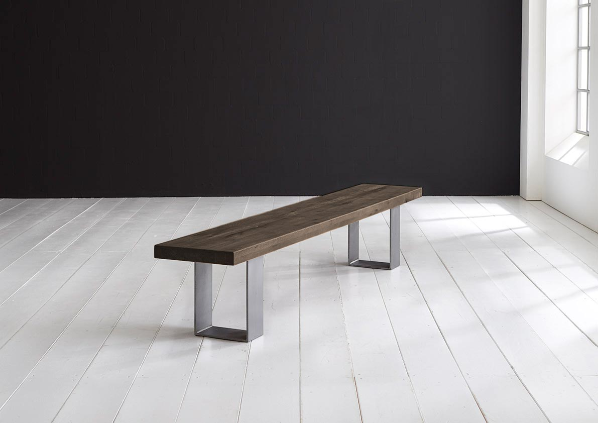 Concept 4 You Spisebordsbænk - Houston ben 280 x 40 cm 6 cm 02 = smoked