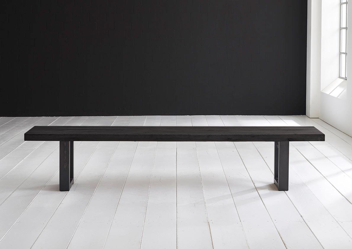 Concept 4 You Spisebordsbænk - Manhattan ben 240 x 40 cm 6 cm 07 = mocca black