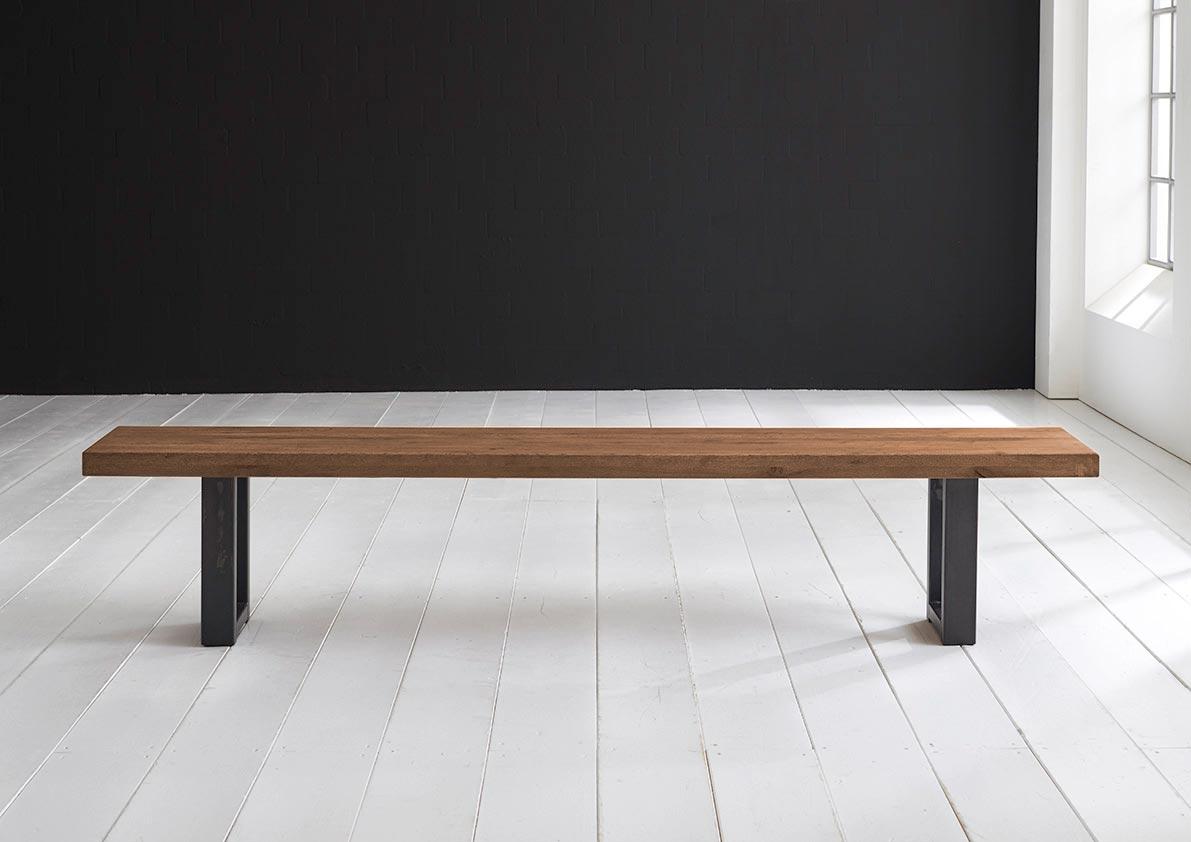 Concept 4 you spisebordsbænk - manhattan ben 220 x 40 cm 6 cm 01 = olie fra bodahl fra boboonline.dk