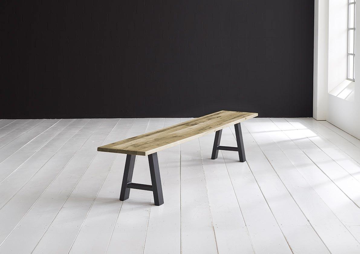 Concept 4 You Spisebordsbænk - Halo-ben 200 x 40 cm 3 cm 05 = sand