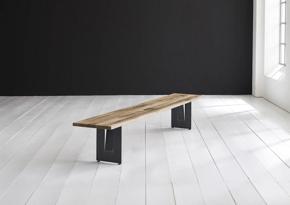 Concept 4 you spisebordsbænk - steven ben 200 x 40 cm 3 cm 04 = desert fra bodahl fra boboonline.dk