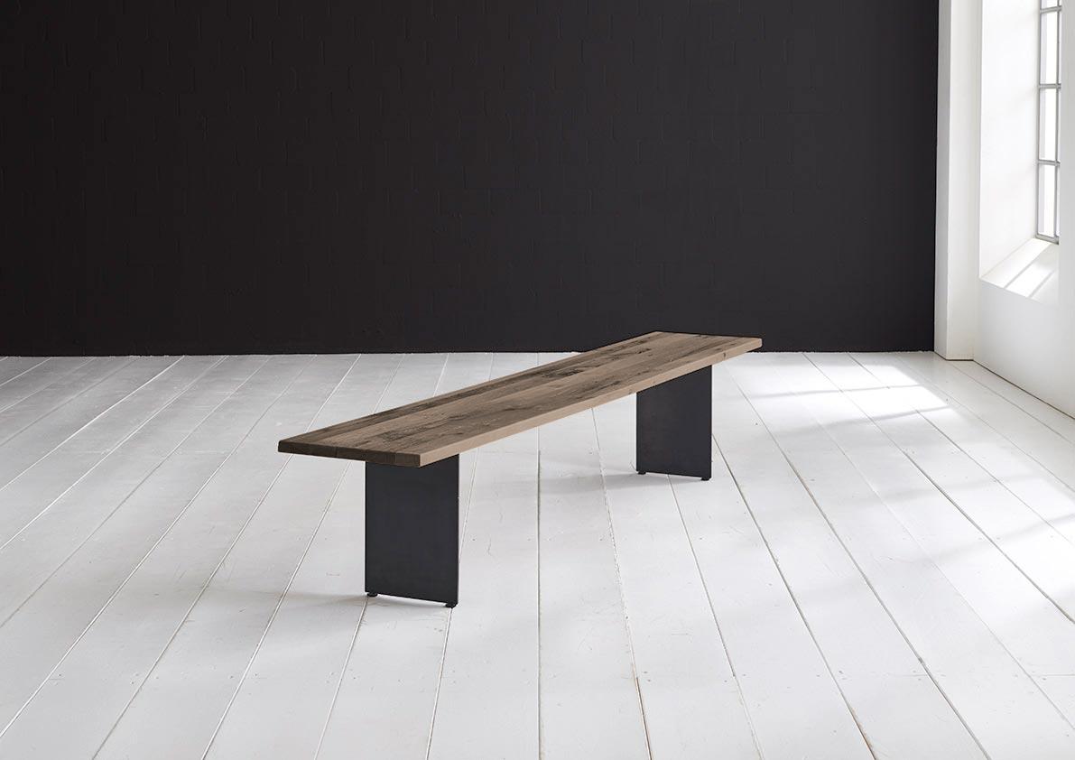 bodahl Concept 4 you spisebordsbænk - line ben 240 x 40 cm 3 cm 02 = smoked på boboonline.dk