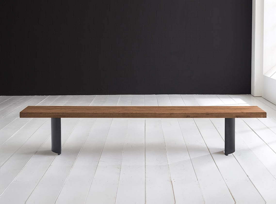 Concept 4 You Spisebordsbænk - Arc-ben 280 x 40 cm 6 cm 01 = olie