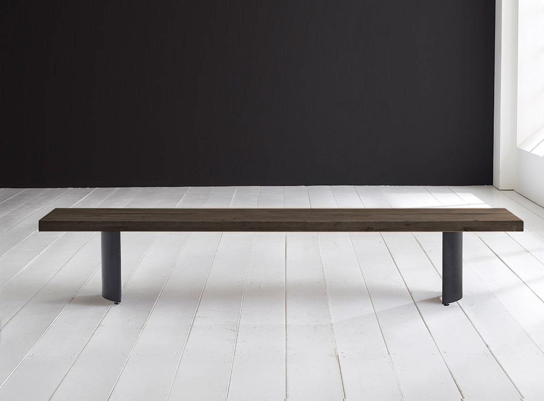 Billede af Concept 4 You Spisebordsbænk - Arc-ben 180 x 40 cm 6 cm 02 = smoked