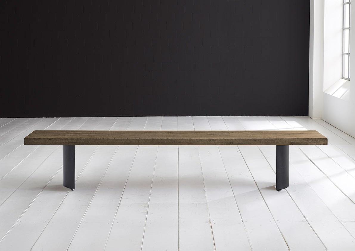 bodahl Concept 4 you spisebordsbænk - arc-ben 200 x 40 cm 6 cm 04 = desert fra boboonline.dk