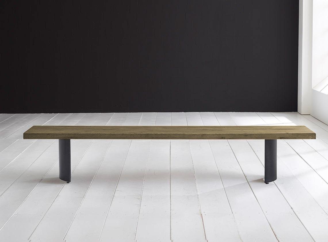 Concept 4 You Spisebordsbænk - Arc-ben 220 x 40 cm 6 cm 05 = sand