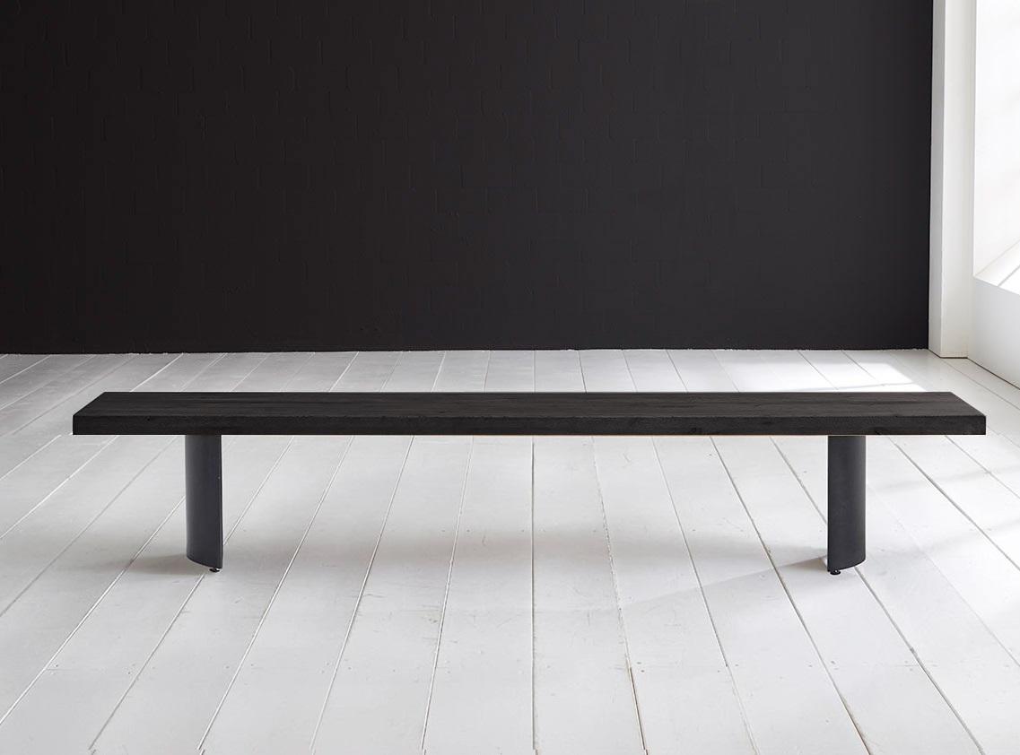 Billede af Concept 4 You Spisebordsbænk - Arc-ben 180 x 40 cm 6 cm 07 = mocca black