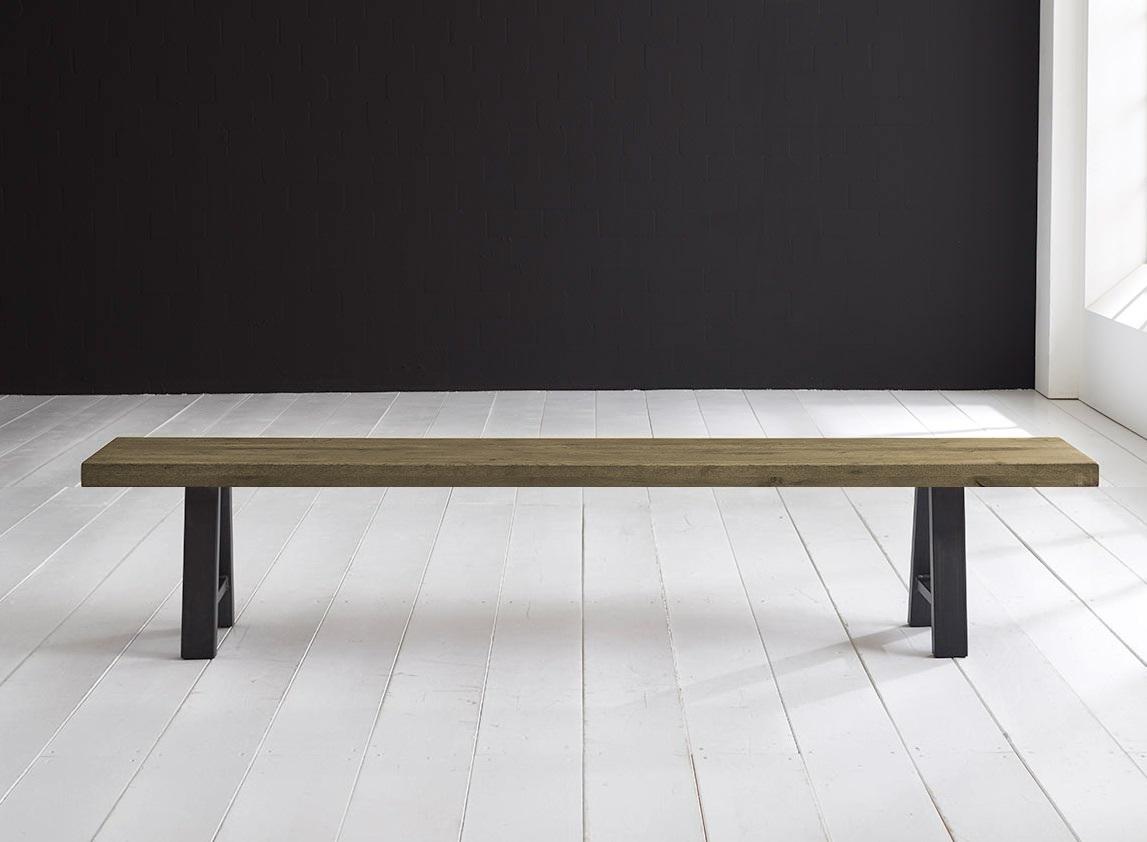 Concept 4 You Spisebordsbænk - Halo-ben 180 x 40 cm 6 cm 05 = sand
