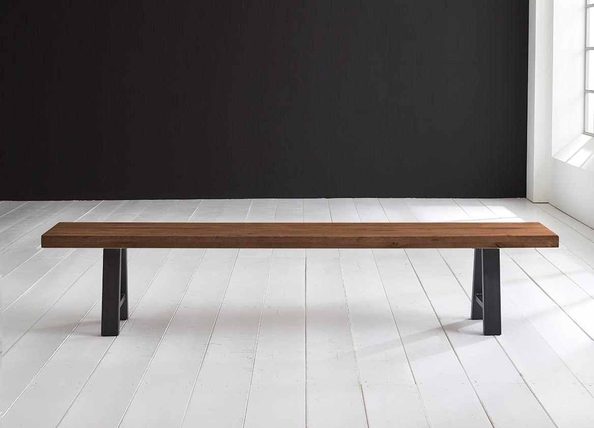 Concept 4 You Spisebordsbænk - Halo-ben 260 x 40 cm 6 cm 06 = old bassano