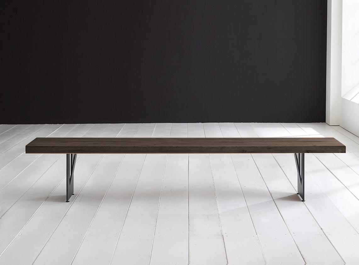 Concept 4 you spisebordsbænk - steven ben 200 x 40 cm 6 cm 02 = smoked fra bodahl på boboonline.dk
