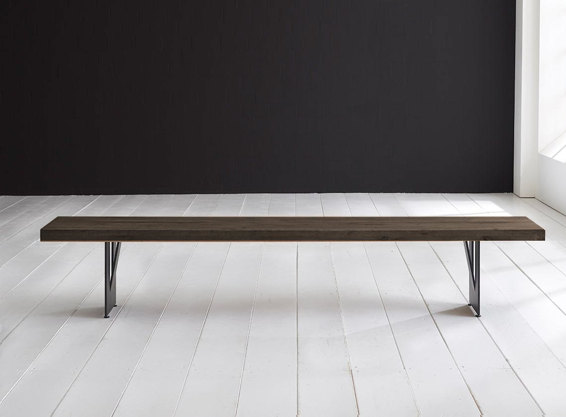 Concept 4 You Spisebordsbænk - Steven Ben 240 x 40 cm 6 cm 02 = smoked