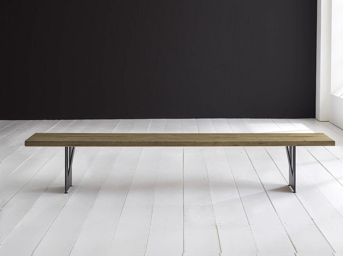 Concept 4 You Spisebordsbænk - Steven Ben 260 x 40 cm 6 cm 05 = sand