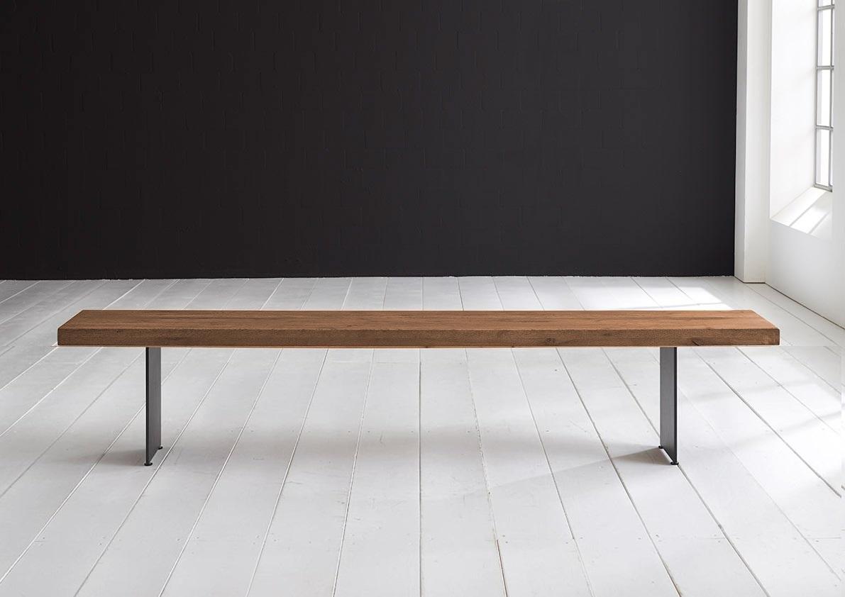 Concept 4 You Spisebordsbænk - Line Ben 240 x 40 cm 6 cm 01 = olie