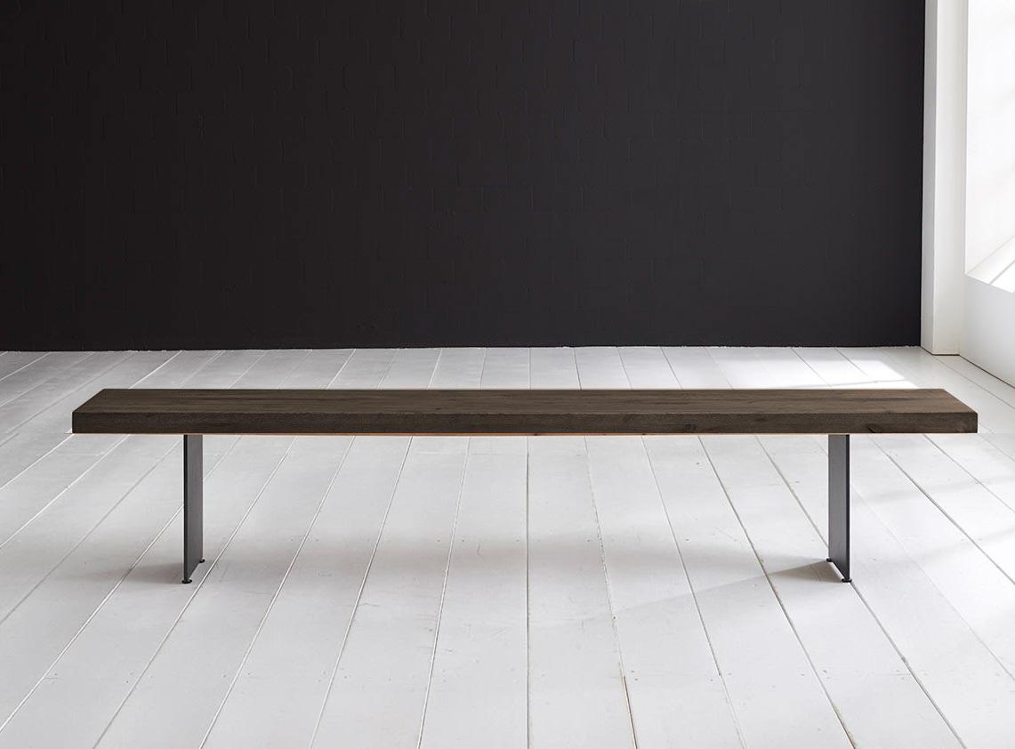 bodahl Concept 4 you spisebordsbænk - line ben 200 x 40 cm 6 cm 02 = smoked på boboonline.dk