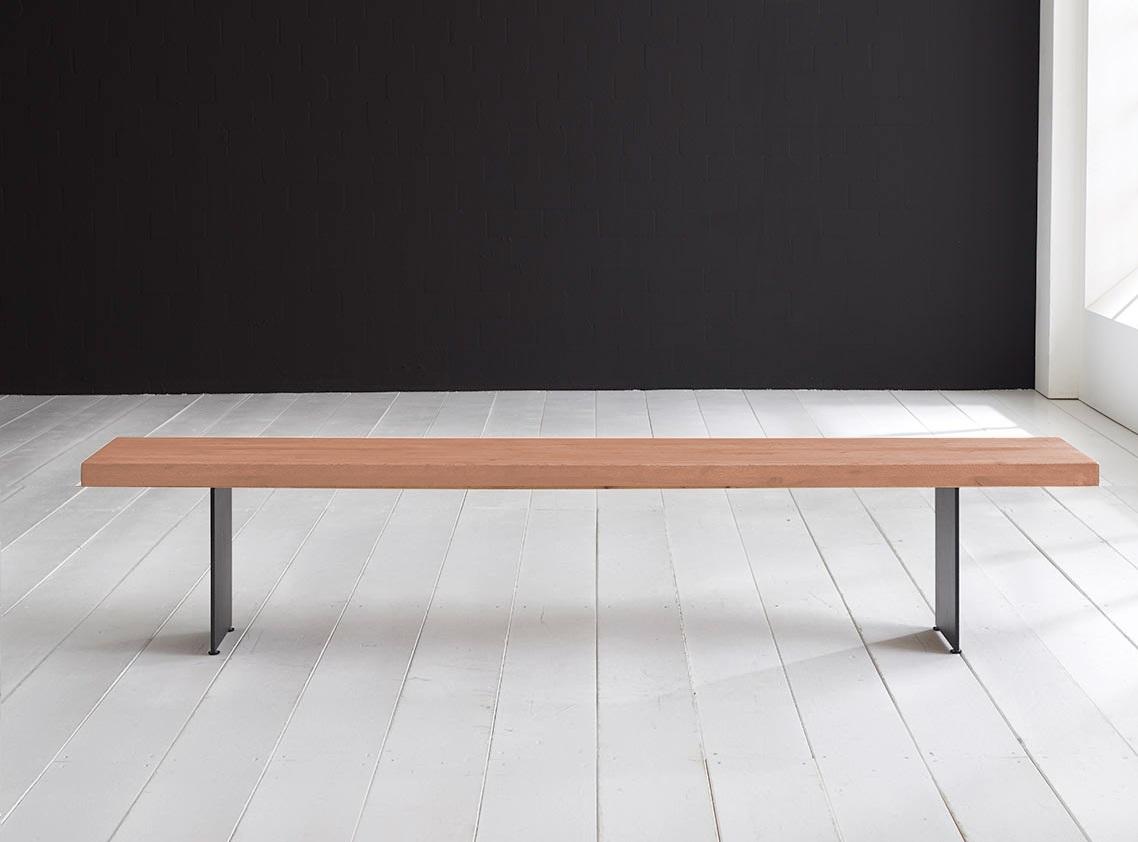Concept 4 You Spisebordsbænk - Line Ben 240 x 40 cm 6 cm 03 = white wash