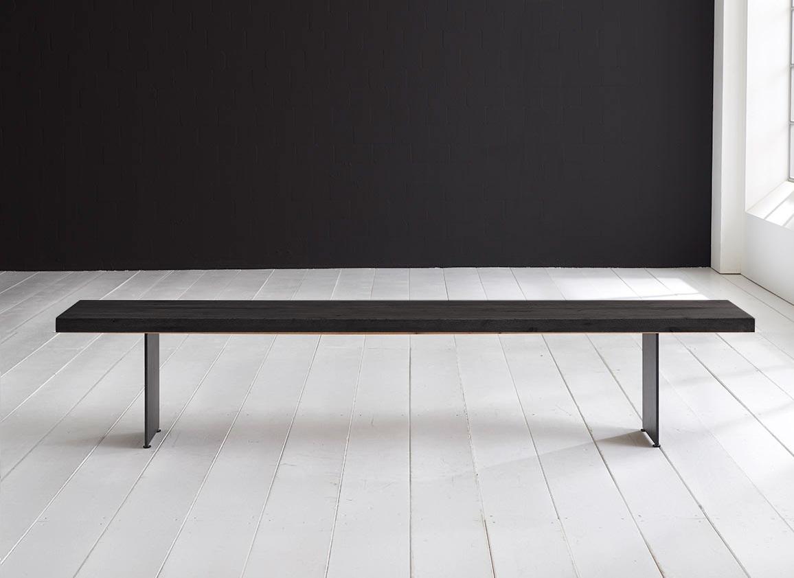 Concept 4 You Spisebordsbænk - Line Ben 300 x 40 cm 6 cm 07 = mocca black