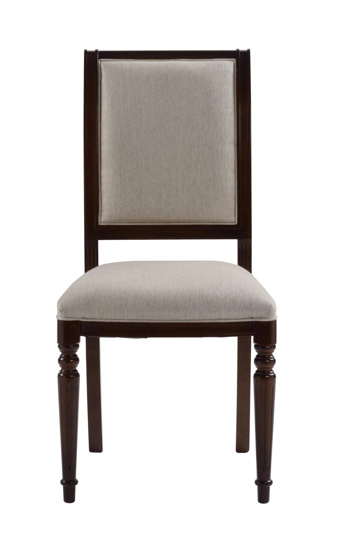 Mozart spisebordsstol - valnød/beige