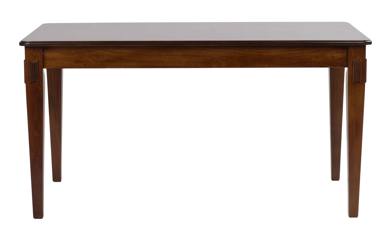 Mozart spisebord - valnøddebrun m. udtræk